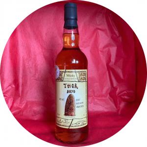 Whisky français Thor Boyo d'origine normande