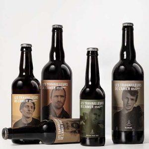 Bière Les travailleurs de L'Amer 33cl