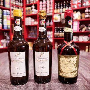 Calvados Famille Guesdon 70 Cl : différents viellissements