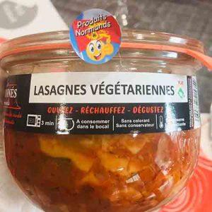 Lasagnes végétariennes 750 gr