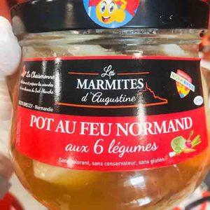 Pot au feu Normand aux 6 légumes 750 gr