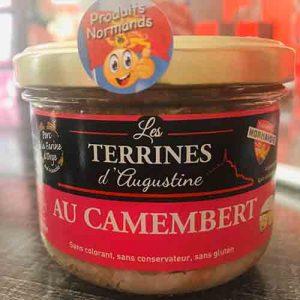 Terrine au camembert  Normande 190 gr