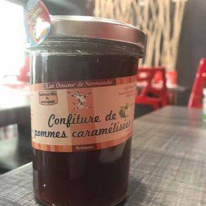 Confiture normande de pommes caramélisées 240 gr