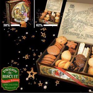 Boite dégustation – La maison du Biscuit