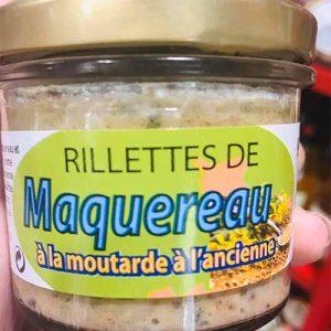 Rillettes de maquereau à la moutarde à l'ancienne 90 gr