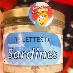 Rillettes de sardines 90 gr