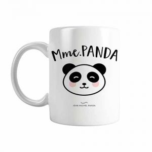 Mug blanc Jean Michel Panda : différents modèles