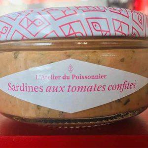 Rillettes de sardines aux tomates confites 90 gr