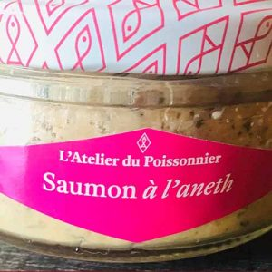Rillettes saumon à l'aneth 140 gr