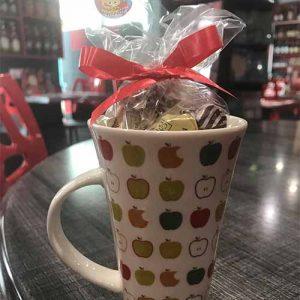 Tasse caramel d'isigny : Tasse haute
