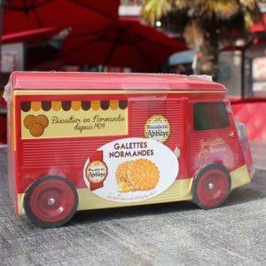 Biscuits Normands boîte voiture Citroën