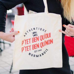 Tote bag Normandie – Sac P'tet ben que oui