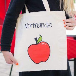Tote bag Normandie – Sac Pomme