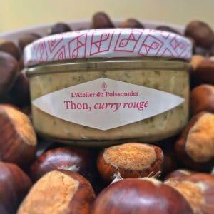 Thon, Curry Rouge – l'Atelier du Poissonnier 90 gr