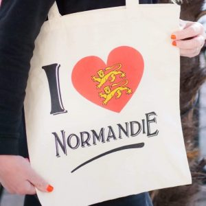 Tote bag Normandie – Sac I Love Normandy