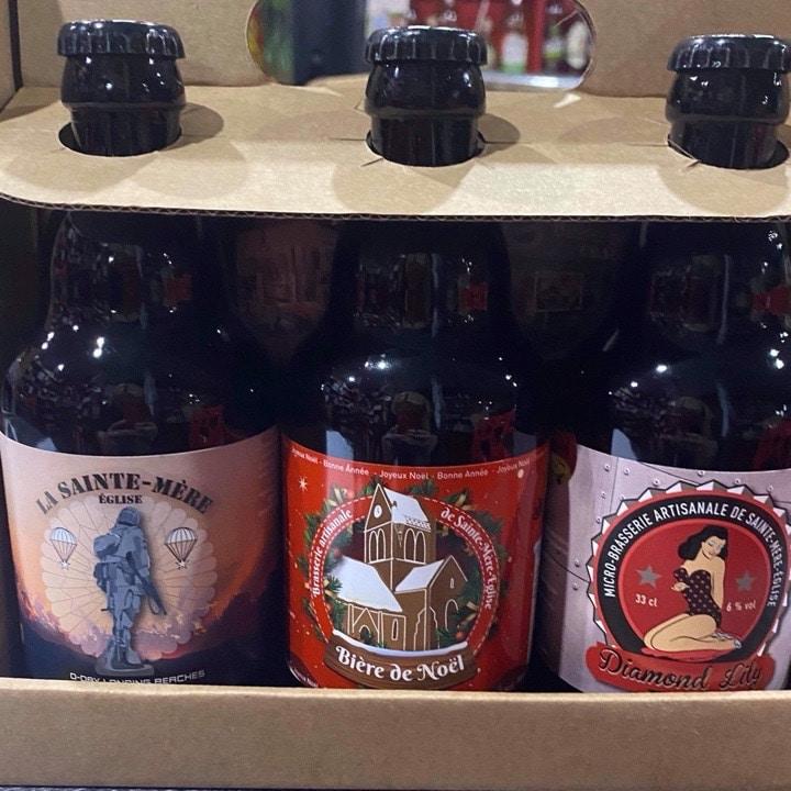 3 bieres locales