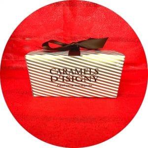 Boite à offrir caramels d'Isigny confiserie normande