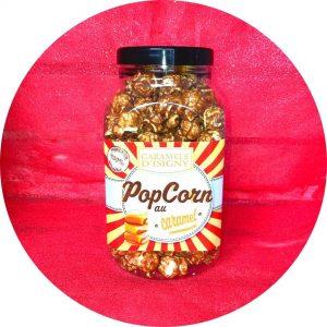 Pop corn au caramel d'Isigny