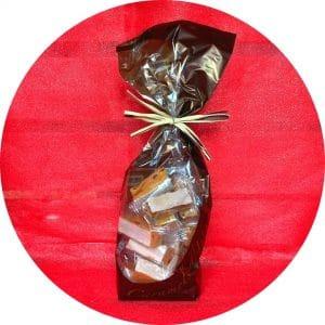 Sachet de nougats caramels d'isigny