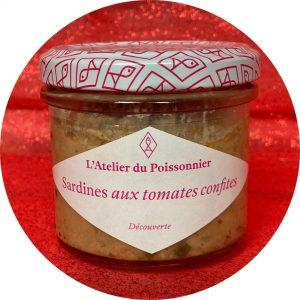 Sardine aux tomates confites: L'atelier du poissonnier