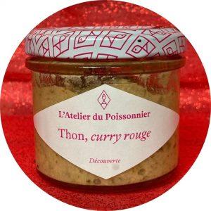 Thon, curry rouge- L'atelier du poissonnier