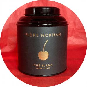 Thé blanc bienfaits cerise & rose FLORE NORMAND
