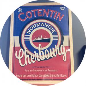 Souvenir de Normandie-Tableau Cotentin Cherbourg