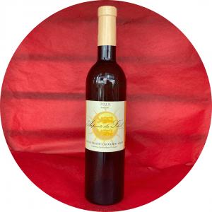 Vin rouge normand-pays du calvados grisy Pinot noir ARPENTS DU SOLEIL